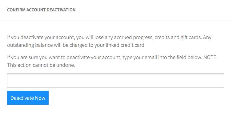 How do I close my account? – Help Center